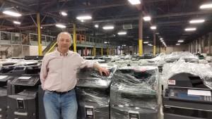 Steve Libenson has Thousands of Used Copiers